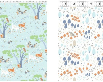 Organic Crib Sheet, Mini Co-Sleeper, Co-Sleeper, Pack n Play, Mini Crib, Fitted Crib Sheet, Organic, Woodland, Neutral, Toddler Sheet, Deer