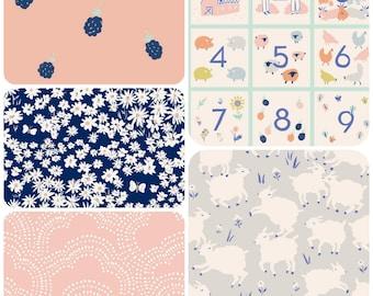 Organic Crib Sheet, Mini Co-Sleeper, Co-Sleeper, Pack n Play, Mini Crib, Fitted Crib Sheet, Organic Toddler Sheet, Organic: Farmstead