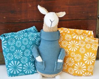 Organic Crib Sheet, Mini Co-Sleeper, Co-Sleeper, Pack n Play, Mini Crib, Fitted Crib Sheet,Organic, Teal, Aqua, Orange, Toddler Sheet