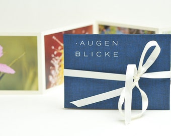 "Photo Book ""MOMENTS"", dark blue"