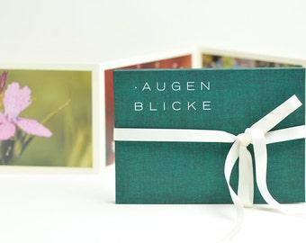 "Photo Book ""MOMENTS"", dark green"