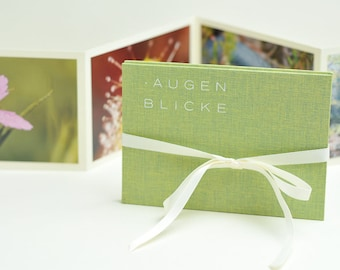 """Photo Book """"MOMENTS"""", light green"""