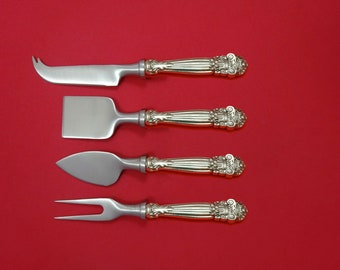 French Provincial by Towle Sterling Silver Dessert Serving Set 4pc Custom Made