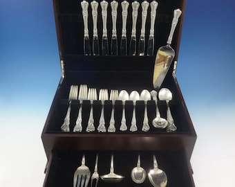 Bel Chateau by Lunt Sterling Silver Fish Serving Set 2 Piece Custom Made HHWS
