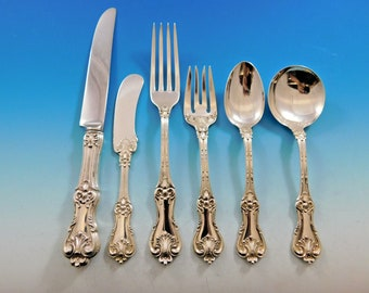 4pc Federal Cotillion by Frank Smith Sterling Silver Regular Place Setting s