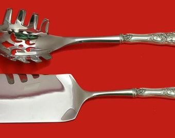 """Sir Christopher by Wallace Sterling Silver Pasta Server HHWS  Custom Made 11/"""""""