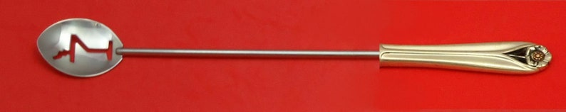 Golden Age by Frank Smith Sterling Silver HHWS  Martini Spoon Custom Made