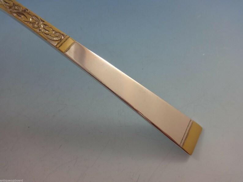Défilement d'or par Gorham en argent sterling couverts ensemble pour 12 service 53 pièces