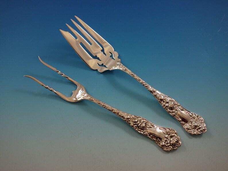 "Du Barry by International Sterling Silver Baked Potato Fork Custom Made 7 1//2/"""