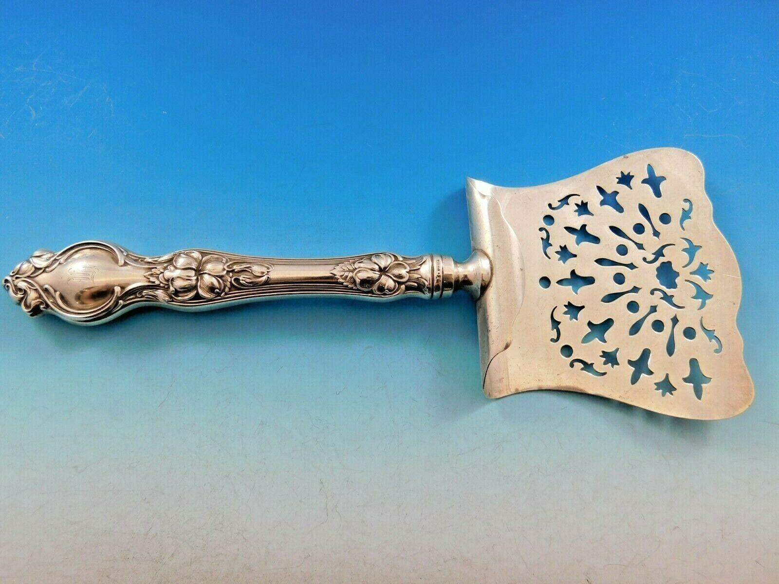 """Sir Christopher by Wallace Sterling Silver Asparagus Server Custom Made 9 1//2/"""""""