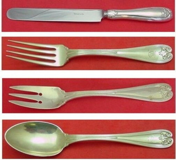 """Monticello by Lunt Sterling Silver Serving Spoon Pierced 9-Hole Custom 8 1//2/"""""""