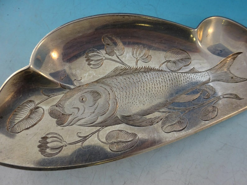 Renaissance par Dominick And Haff Sterling Silver Fish Server Fish On Blade 11