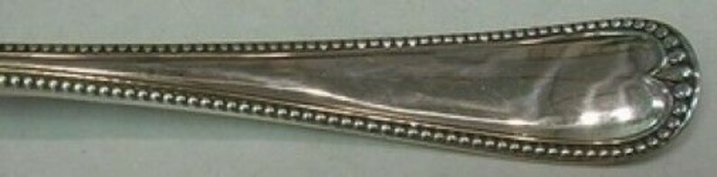 Newcastle by Gorham Sterling Silver Cold Meat Fork 8 18