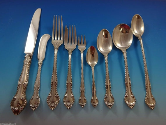 """English Gadroon by Gorham Sterling Silver Olive Spoon Ideal Custom Made 5 3//4/"""""""