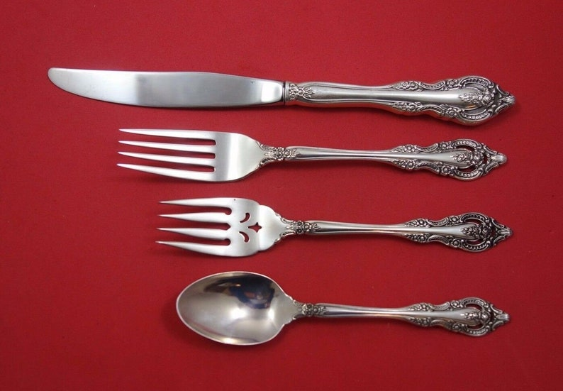 Mediterranea by Oneida Sterling Silver Regular Size Place Setting s 4pc
