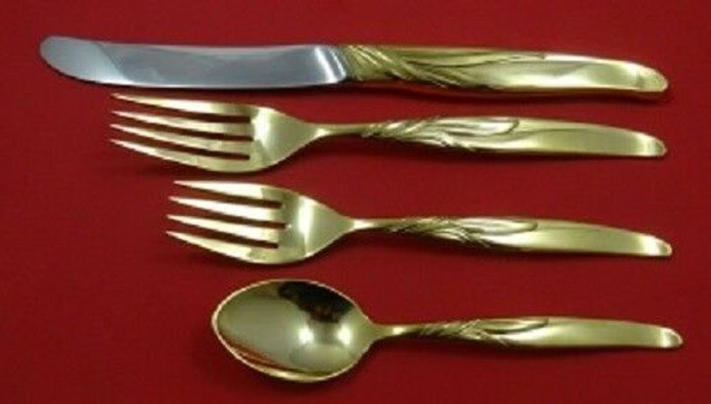 s 4pc Southwind Vermeil By Towle Sterling Regular Size Place Setting