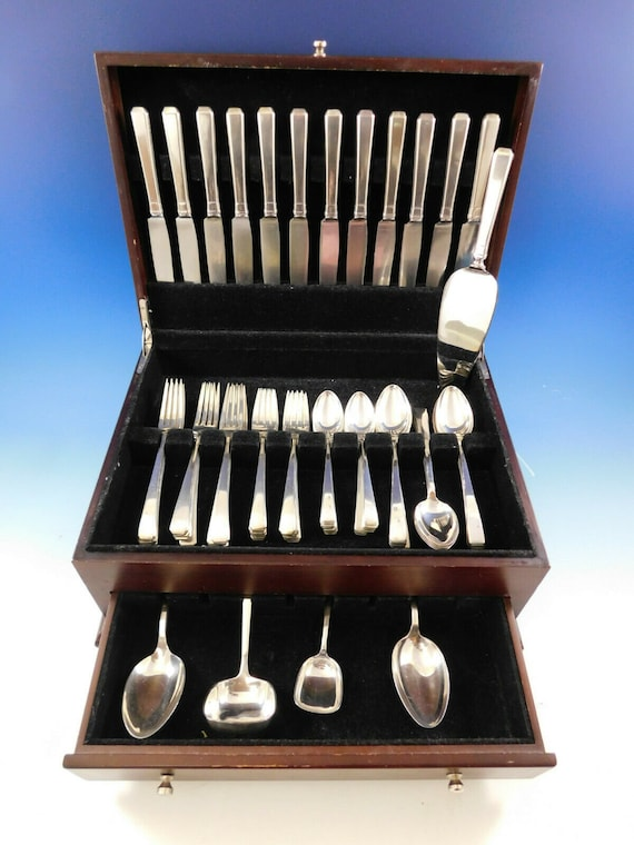 Craftsman by Towle Sterling Silver Cheese Server Serving Set 2pc HHWS  Custom