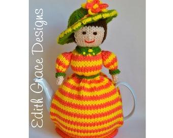 Gwendolen Teapot Cosy Knitting Pattern