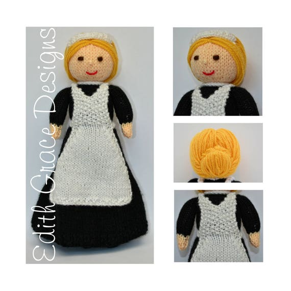 Violet 1920\'s Lady\'s Maid Doll Instant Download PDF   Etsy