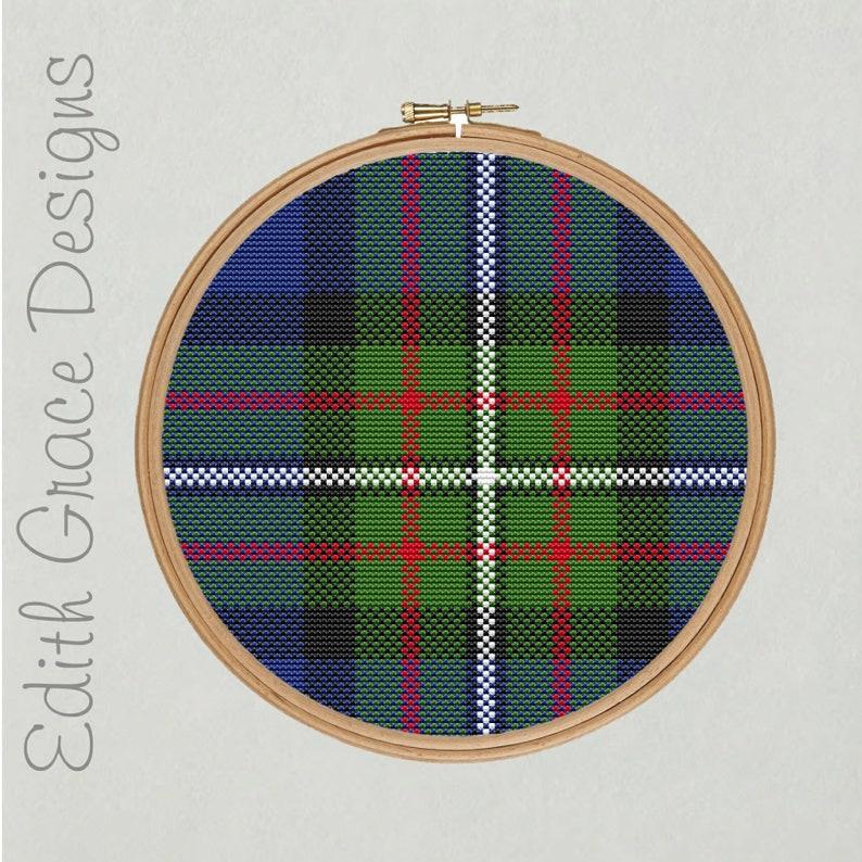 Fergusson Tartan Cross Stitch Pattern image 0