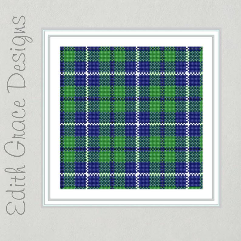 Douglas Tartan Needlepoint Pattern image 0