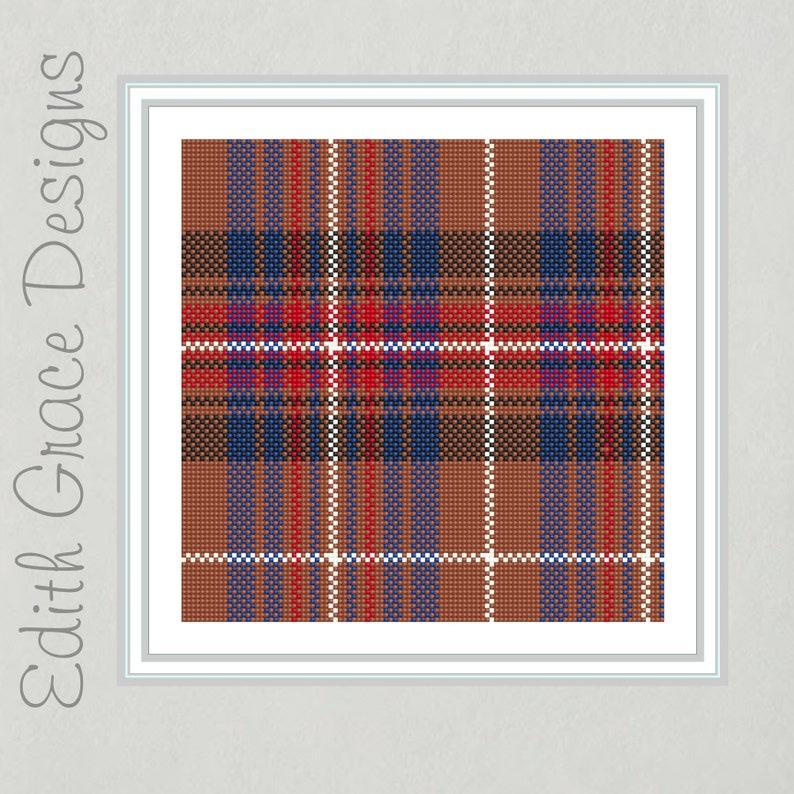 Griffiths Tartan Needlepoint Pattern image 0