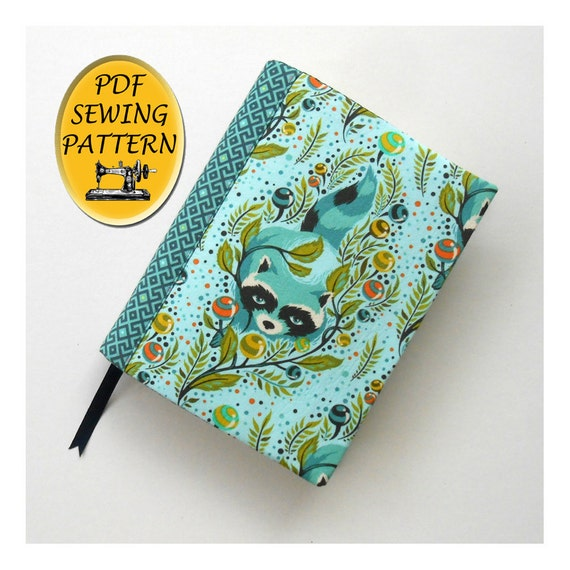 Book Cover Pattern Uk : Notebook cover sewing pattern a journal book