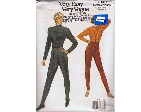 Sehr einfach sehr Vogue 7849 Schnittmuster Misses Einteiler | Etsy