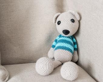 Amigurumi PATTERN - Teddy BEAR (oso) #1 - CROCHET