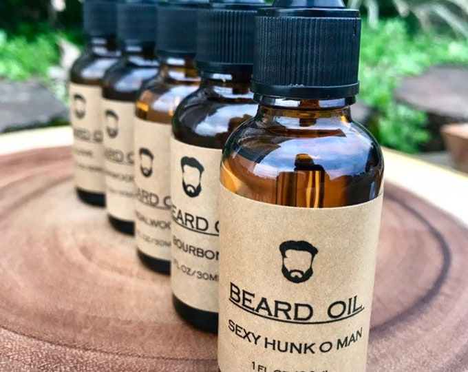 BEARD OIL- 5 Scents