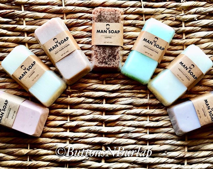 MANSOAP- 7 Scents
