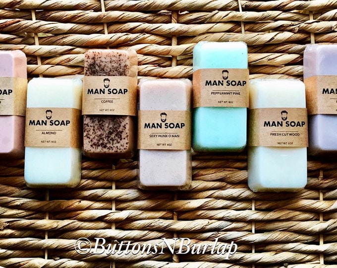 MAN SOAP Set of 7