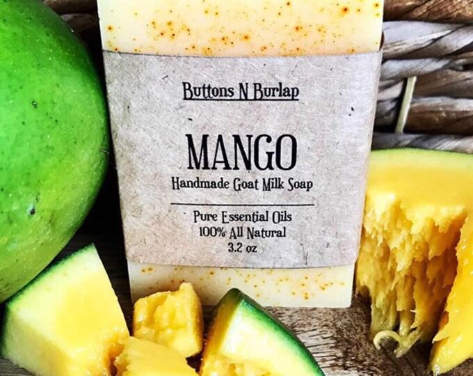 MANGO- Organic Goats Milk Soap