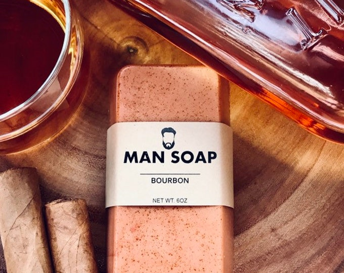 MANSOAP Bourbon- Organic Goats Milk Soap