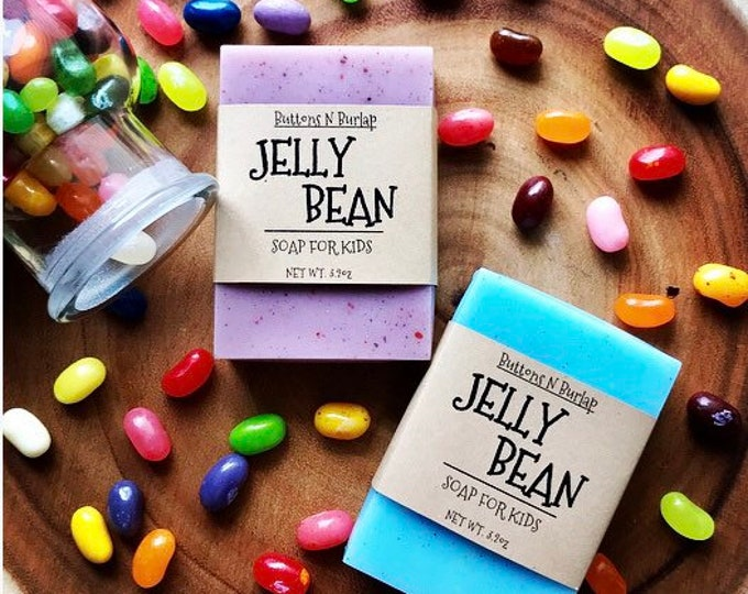 JELLYBEAN- Soap For Kids