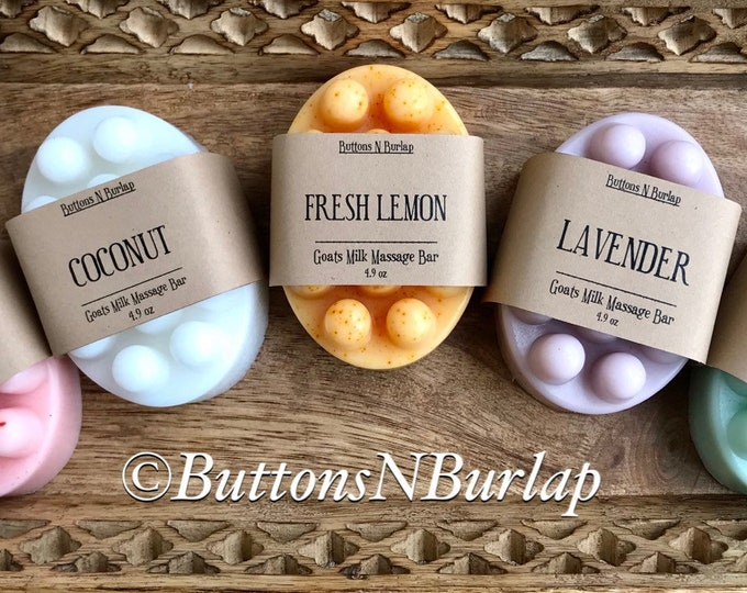 MASSAGE BAR - Available in 5 Scents