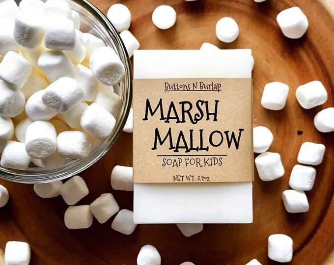 MARSHMALLOW- Soap For  Kids