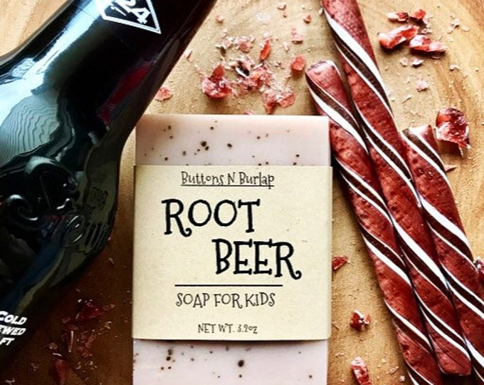 ROOT BEER- Soap For Kids