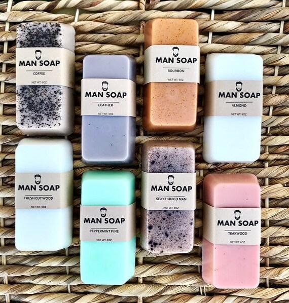 MAN SOAP Set of 8