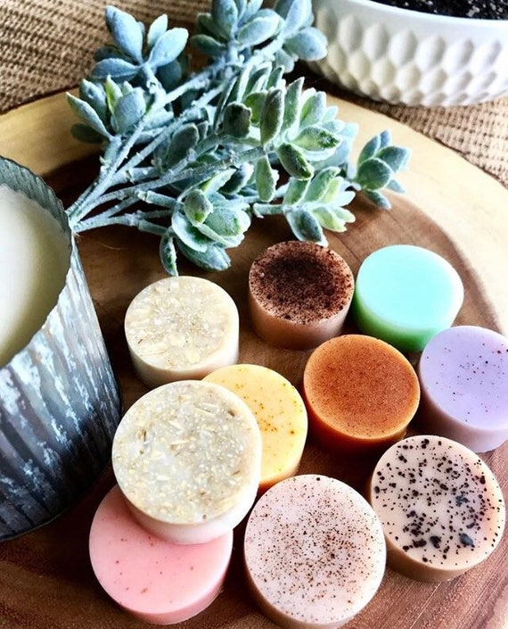 SOAP SAMPLES (Set of 6) Organic Goats Milk Soap-You Choose ANY 6 Scents