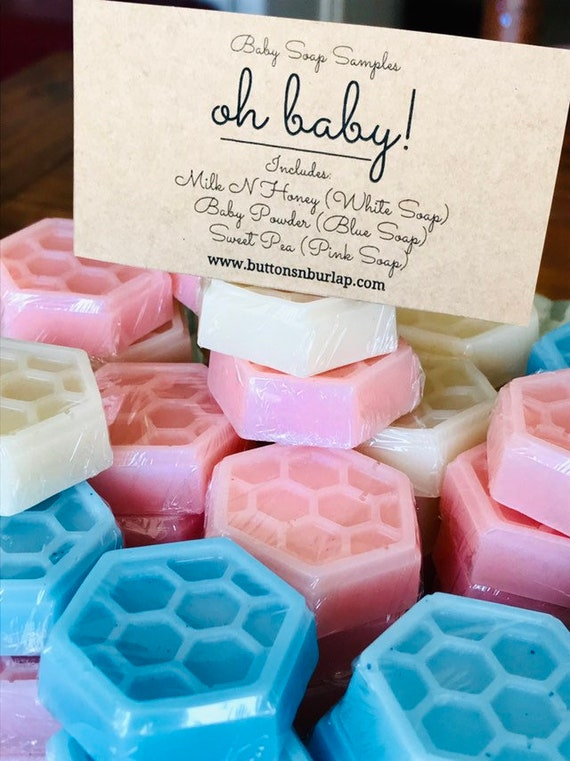 BABY SOAP Samples Set of 3