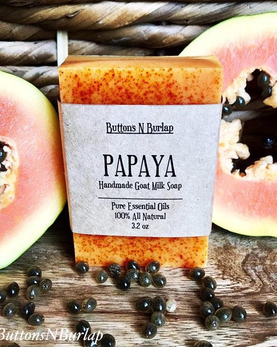 PAPAYA- Organic Goats Milk Soap