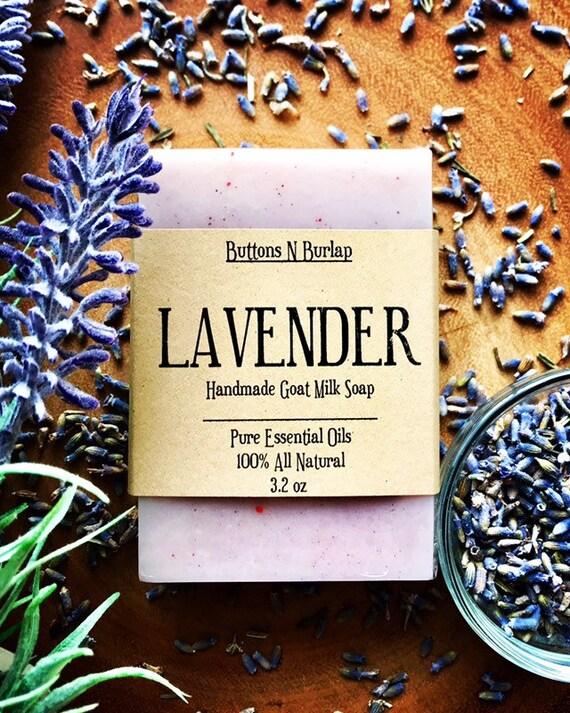 LAVENDER- Organic Goats Milk Soap
