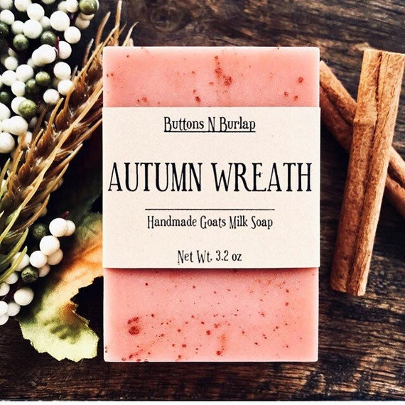 AUTUMN WREATH- Organic Goats Milk Soap