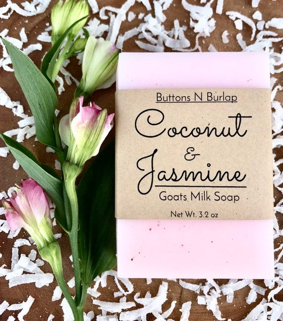 Coconut & Jasmine- Spa Collection Soap