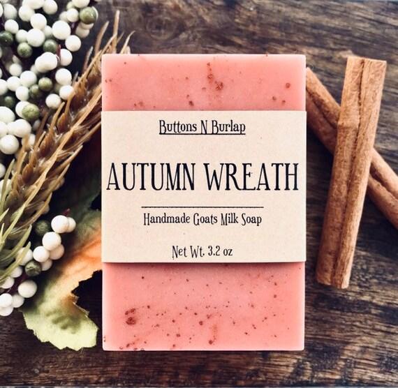 AUTUMN WREATH- Organic Goats Milk Soap