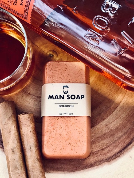 MANSOAP Bourbon- Organic Goats Milk Soap