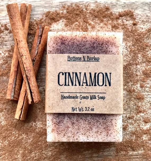 Cinnamon Goats Milk Soap