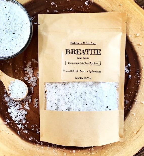 BREATHE Bath Salts 10.7oz