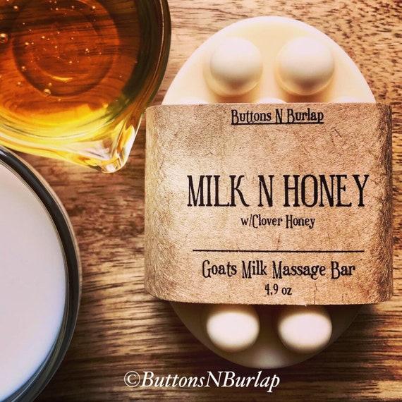 MILK N HONEY-Massage Bar Soap